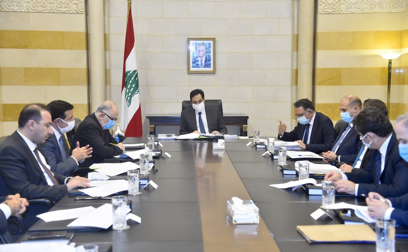 Pr Minister Hassan Diab Heading Garbage Solution Committee