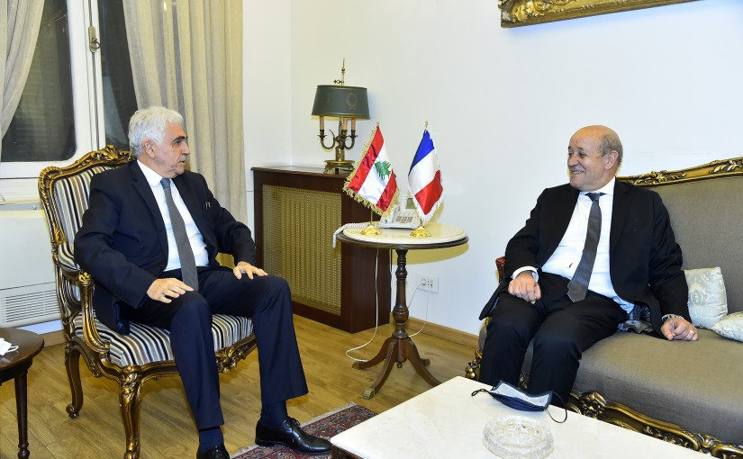 Minister Nassif Hiti meets French Minister