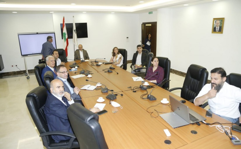 Minister Hassan Hamad meets Technical presentation of the universal health coverage platform