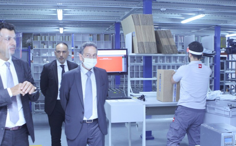Minister Raoul Nehme Visits NET HOLDING Company in Quarentina