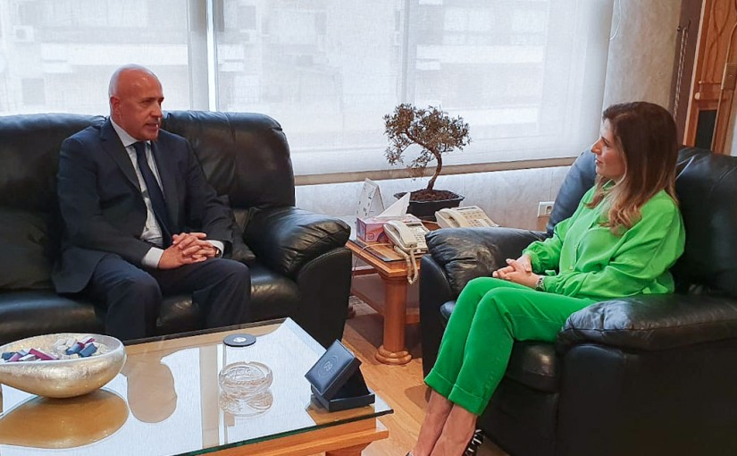 Minister Lamya Yamine meets Argentina Ambassador