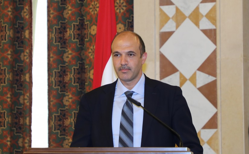 Minister Hassan Hamad Attends a Conference for Minister of Health
