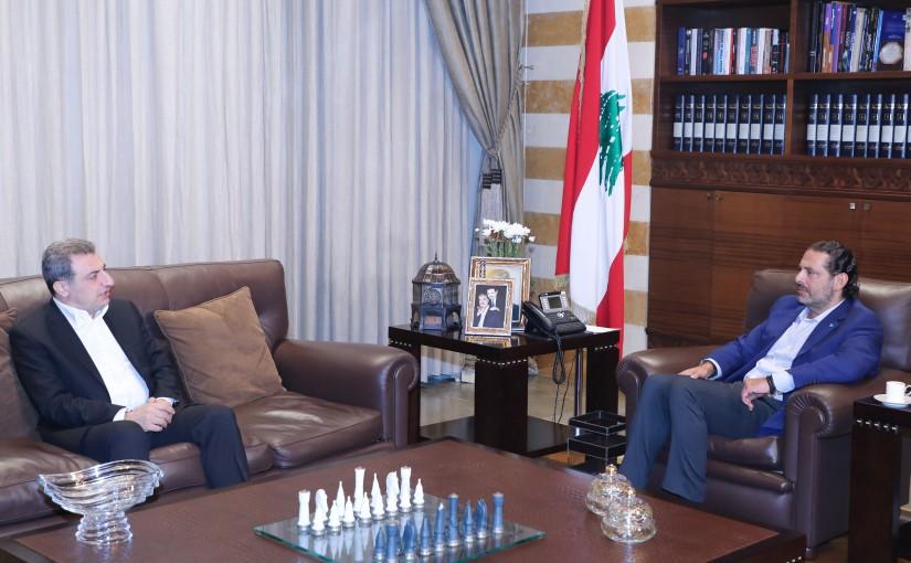 Former Pr Minister Saad Hariri meets Former Minister Wael Abou Faour