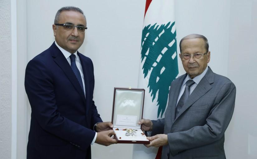President Michel Aoun Meets Tunisian Ambassador