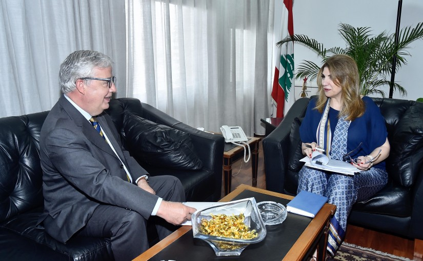 Minister Marie Claude Najem meets Mexican Ambassador