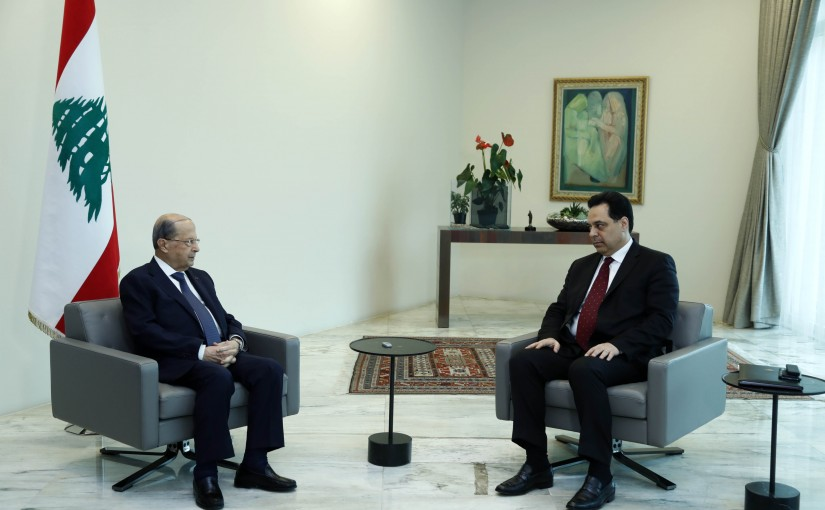 Presidents Aoun and Diab Signed The Decree Accepting The Resignation of Minister Antoine Hiti and the Decree Appointing Ambassador Charbel Wehbeh as Minister of Foreign Affairs and Emigrants