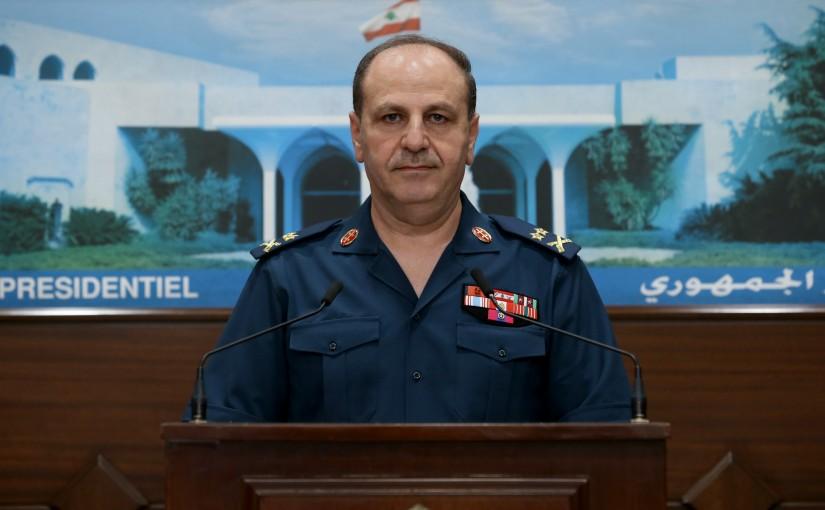 Press Conference for General Mahmoud el Assmar