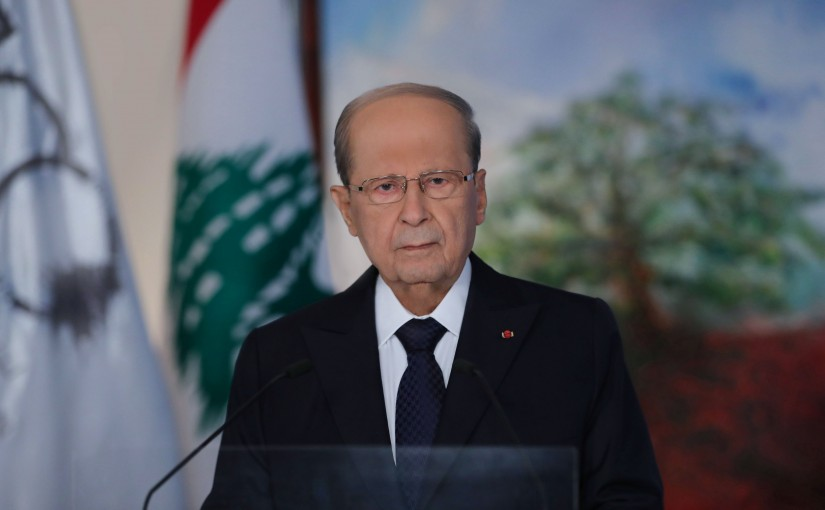 Address of the Pr.Michel Aoun on the occasion of Centenary of the Great Lebanan