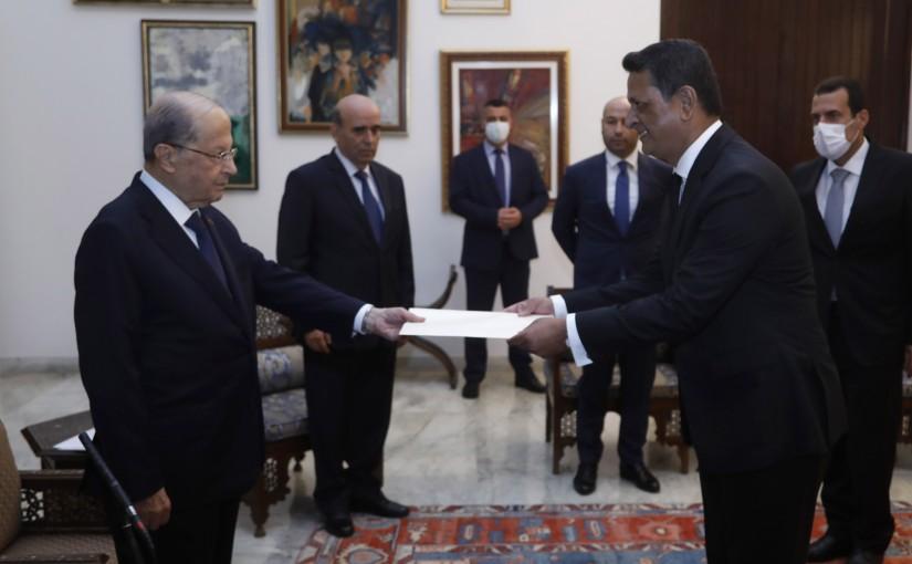 President Michel Aoun Meets Bangladesh Ambassador