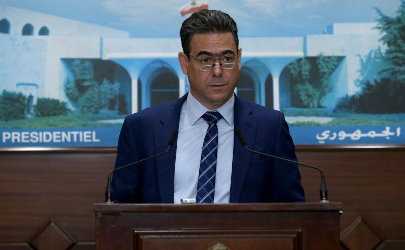 Speech for MP Nicolas Sehnaoui