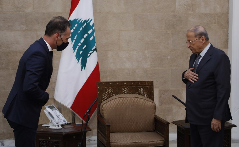 President Michel Aoun Meets German Minister of Foreign Affairs Heiko Josepf MAAS