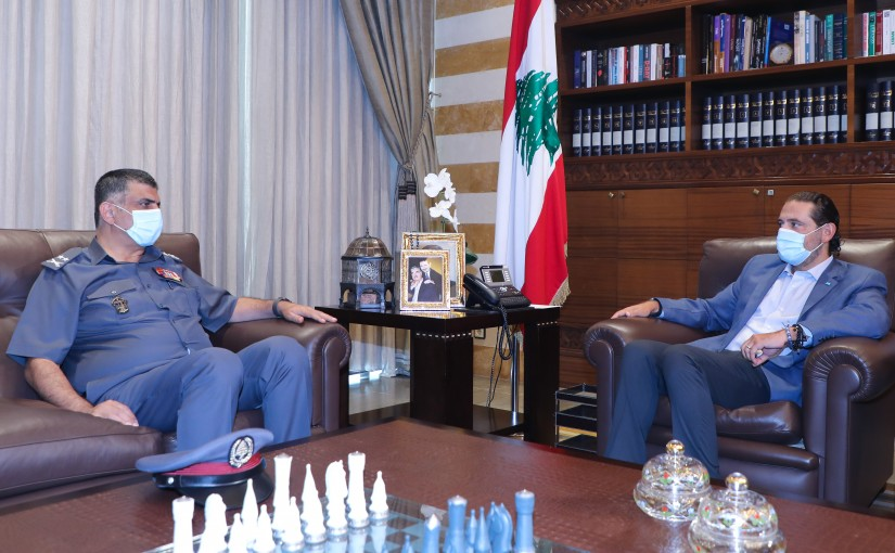 Former Pr Minister Saad Hariri meets General Imad Outhman