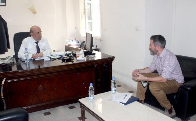 Minister Charbel Wehbe meets Canadian Charges D affaire