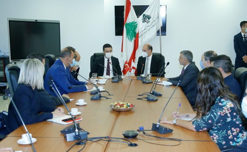 Minister Hassan Hamad meets a Turkish Delegation