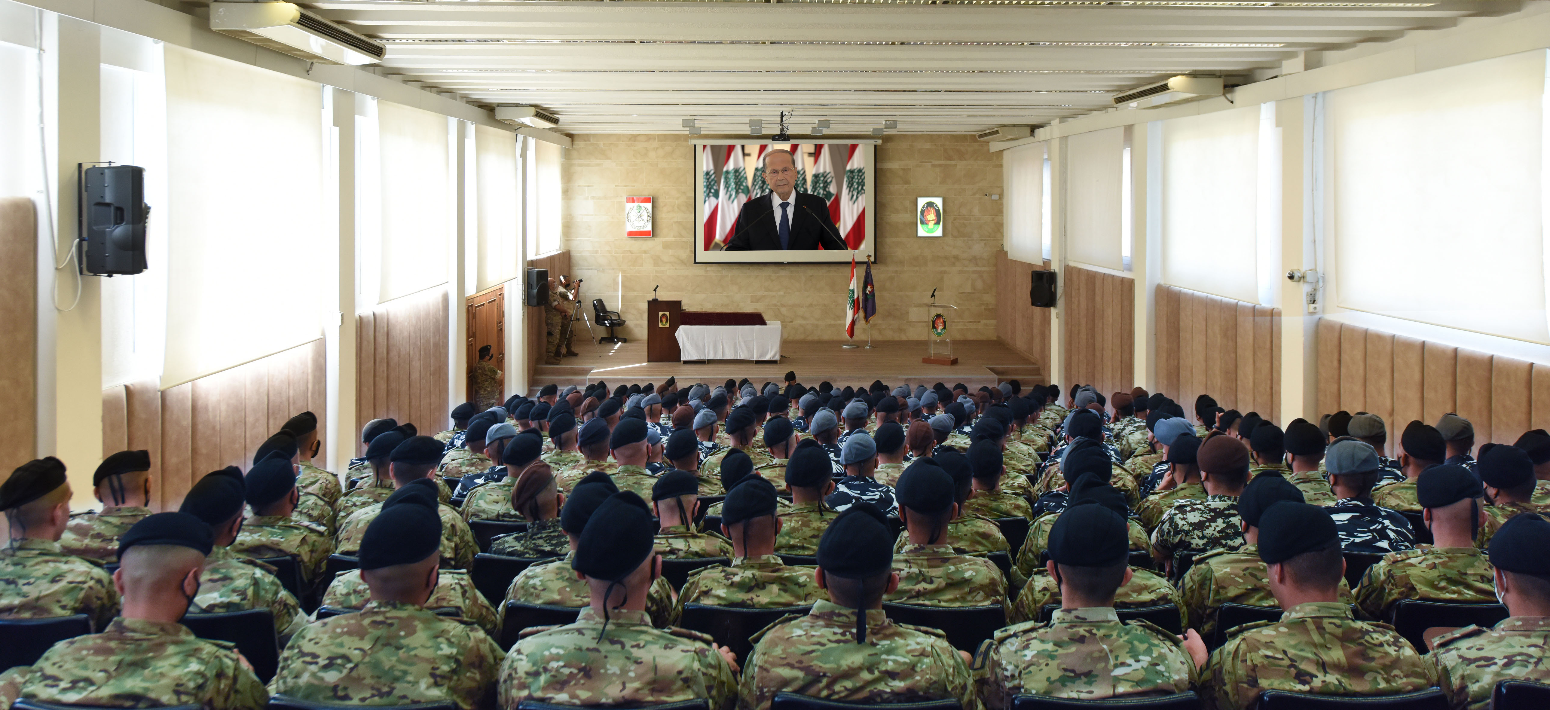 The Address of President Michel Aoun on The Occasion of Army Day (2)