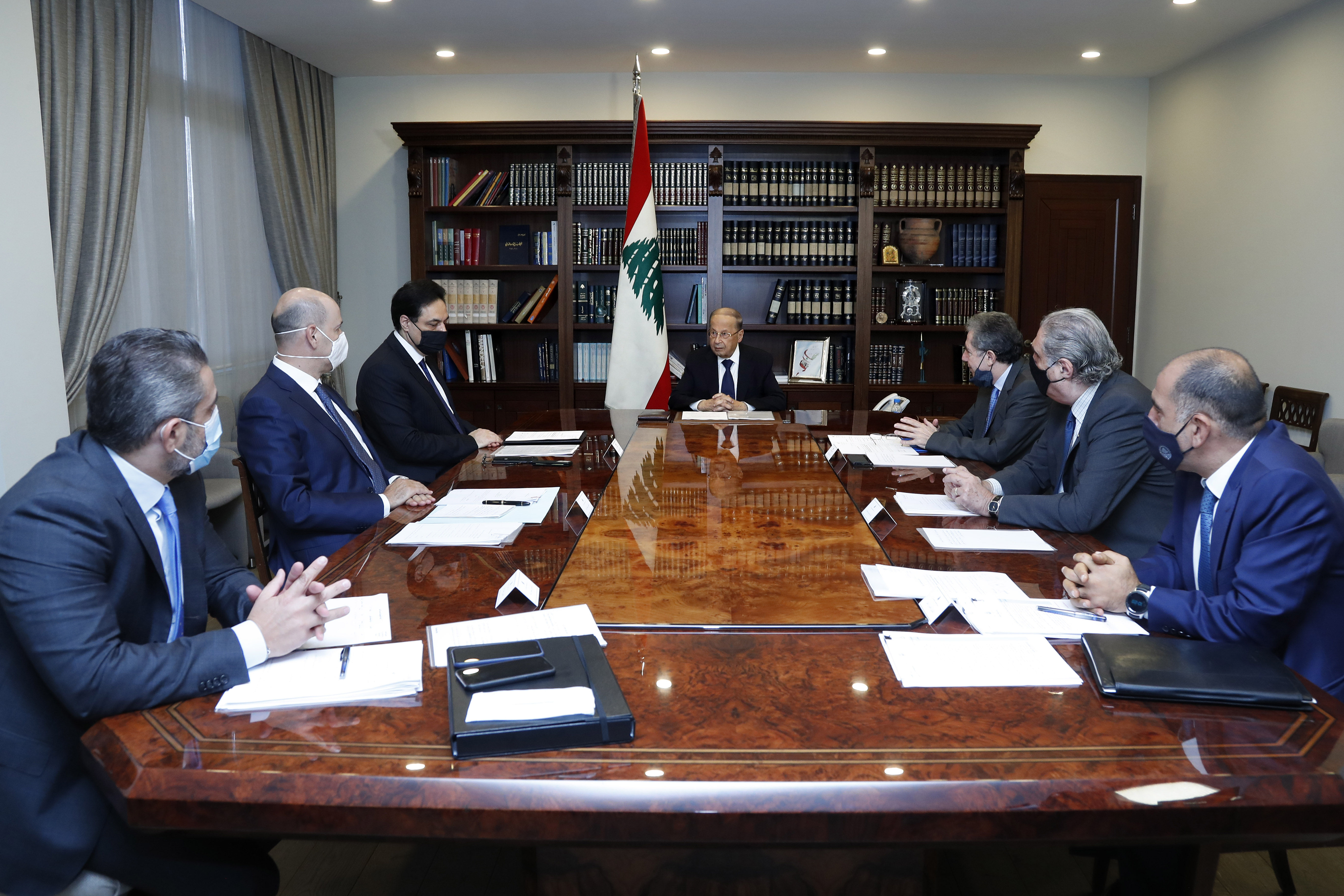 1 - Prime Minister Hassan Diab 1