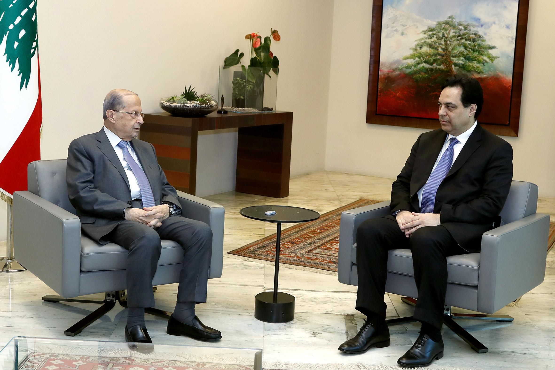 1 - Prime Minister Hassan Diab