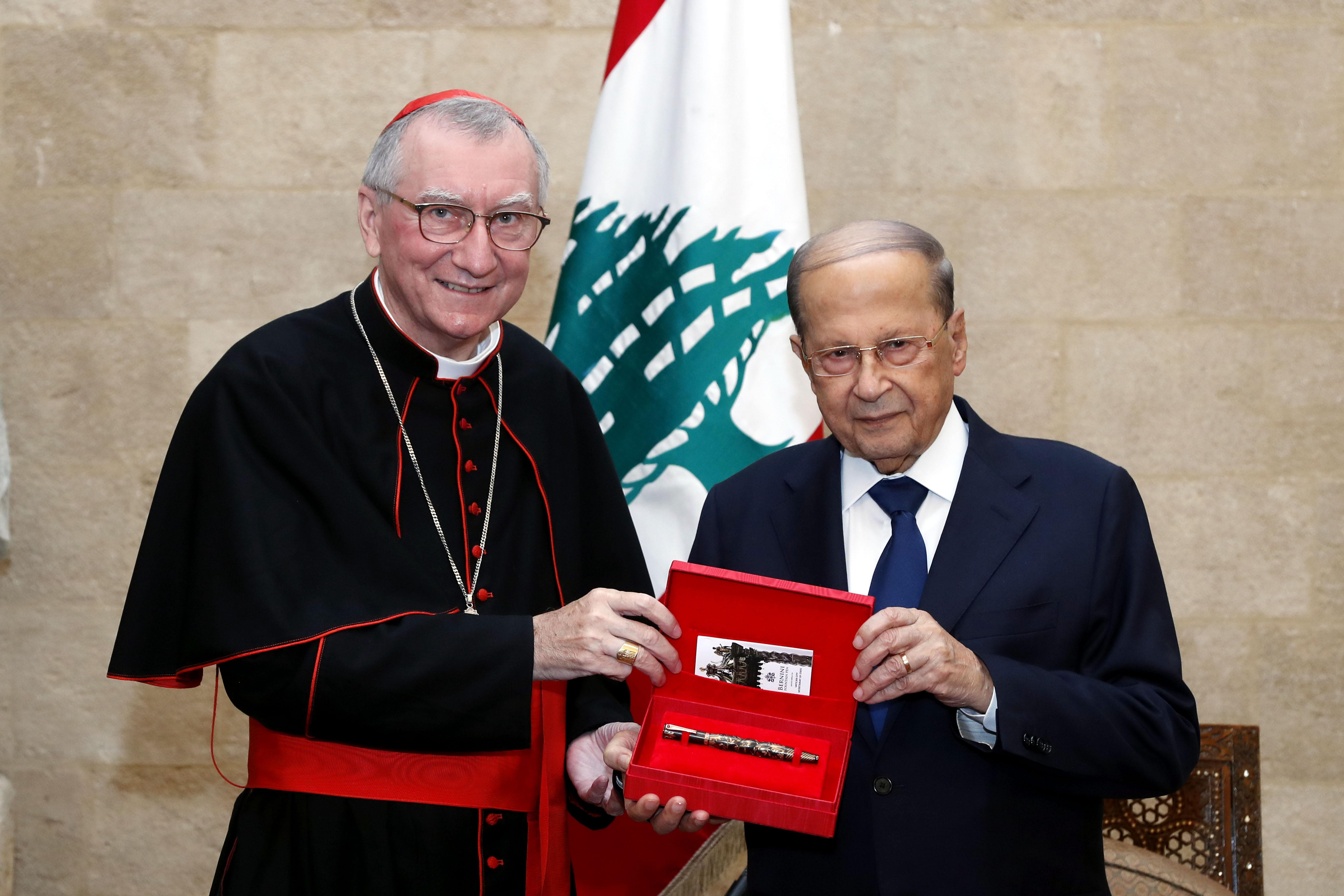 1 -S. Eminence Cardinal Pietro Parolin 03