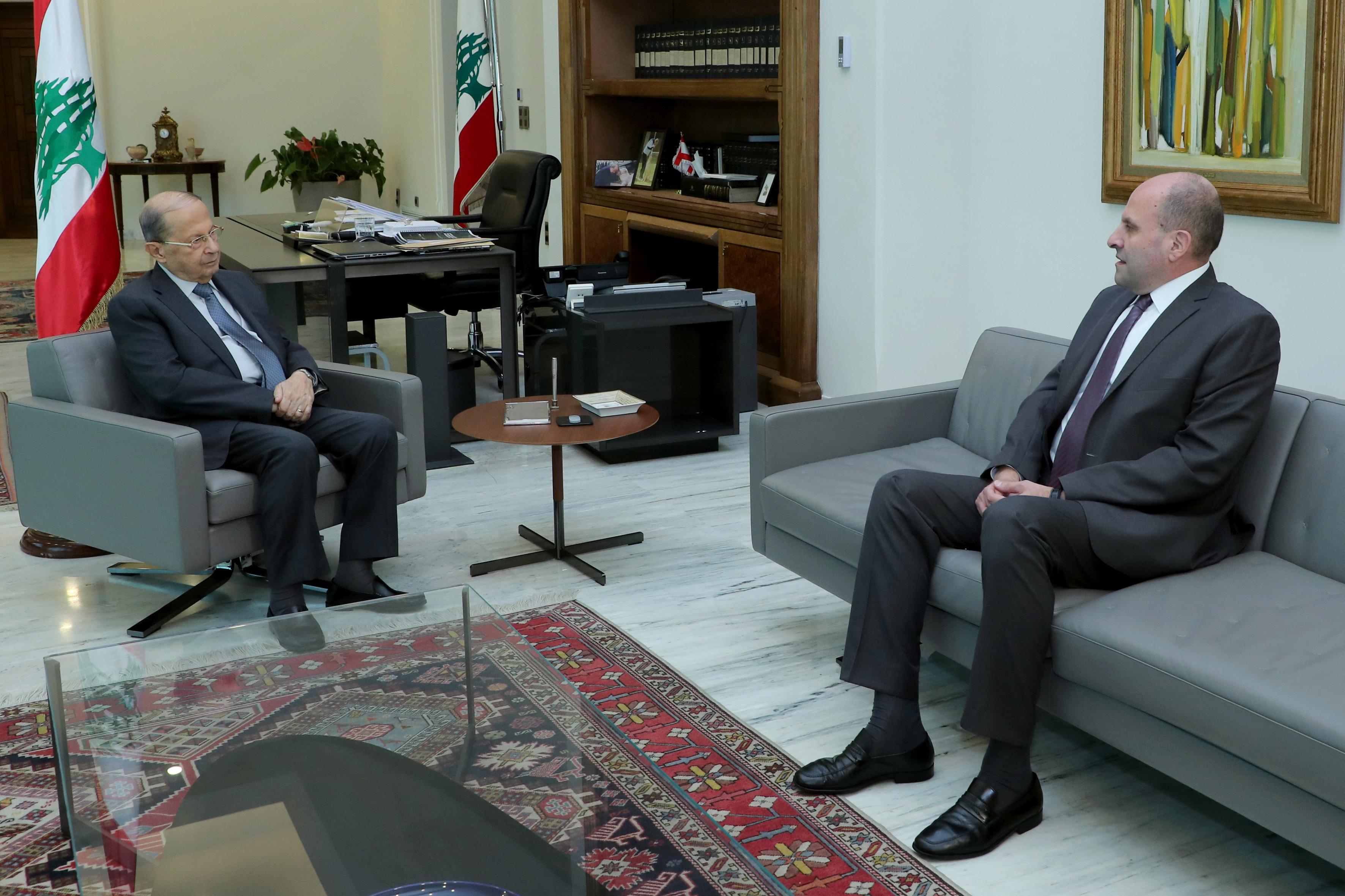 1- Salim Aoun