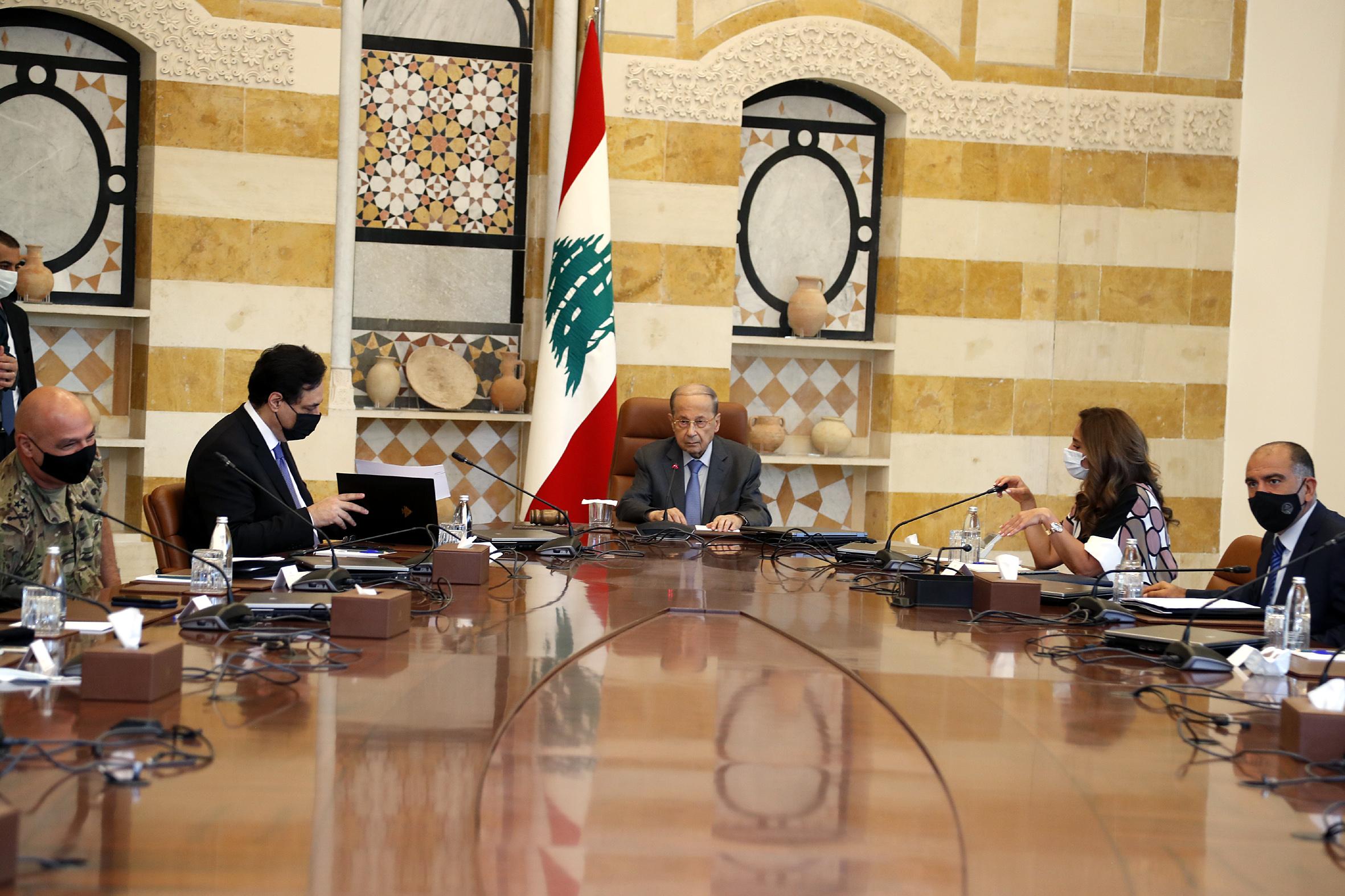 2 - Prime Minister Hassan Diab  1