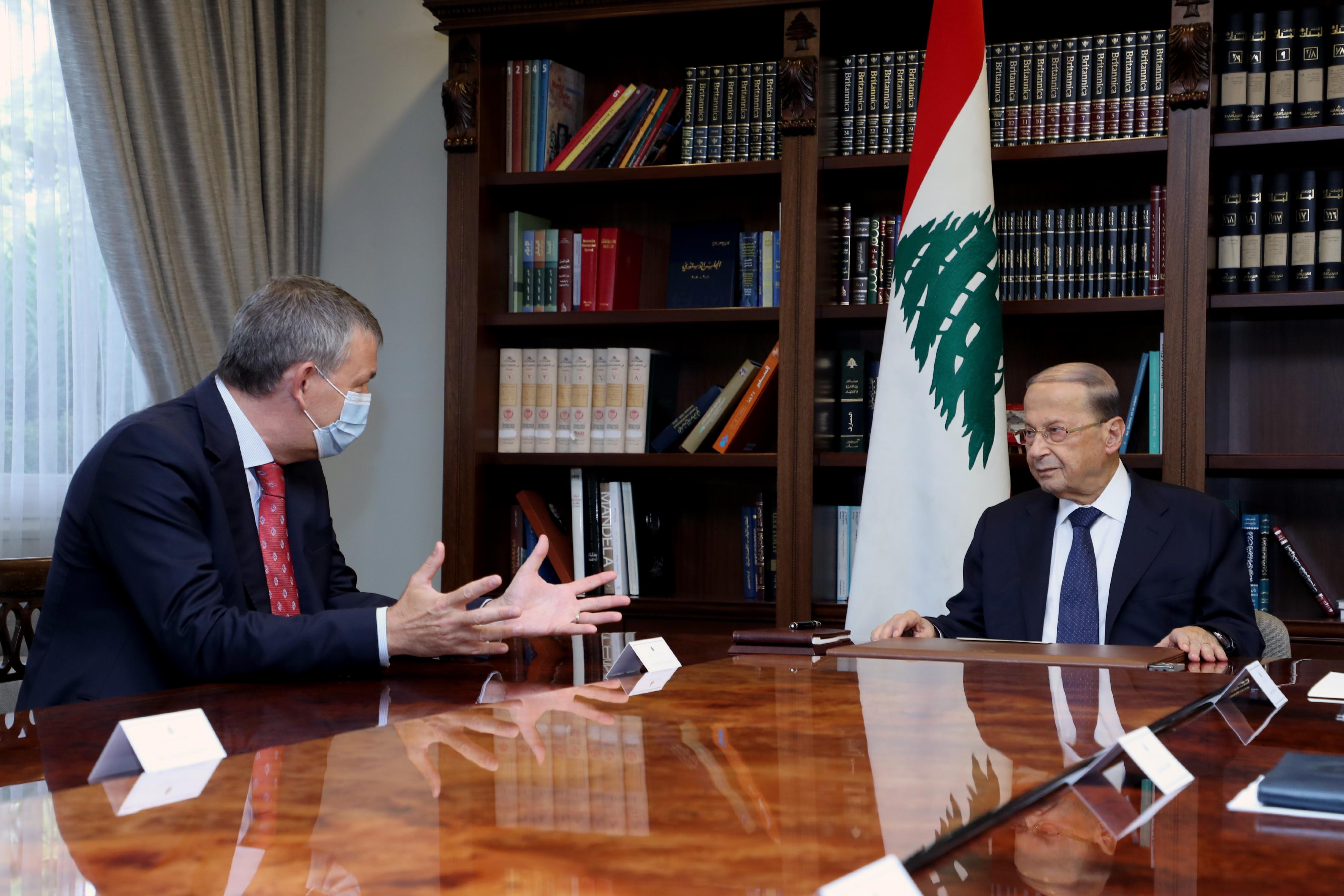 2 - UN Deputy Special Coordinator for Lebanon, Mr. Philippe Lazarini 1