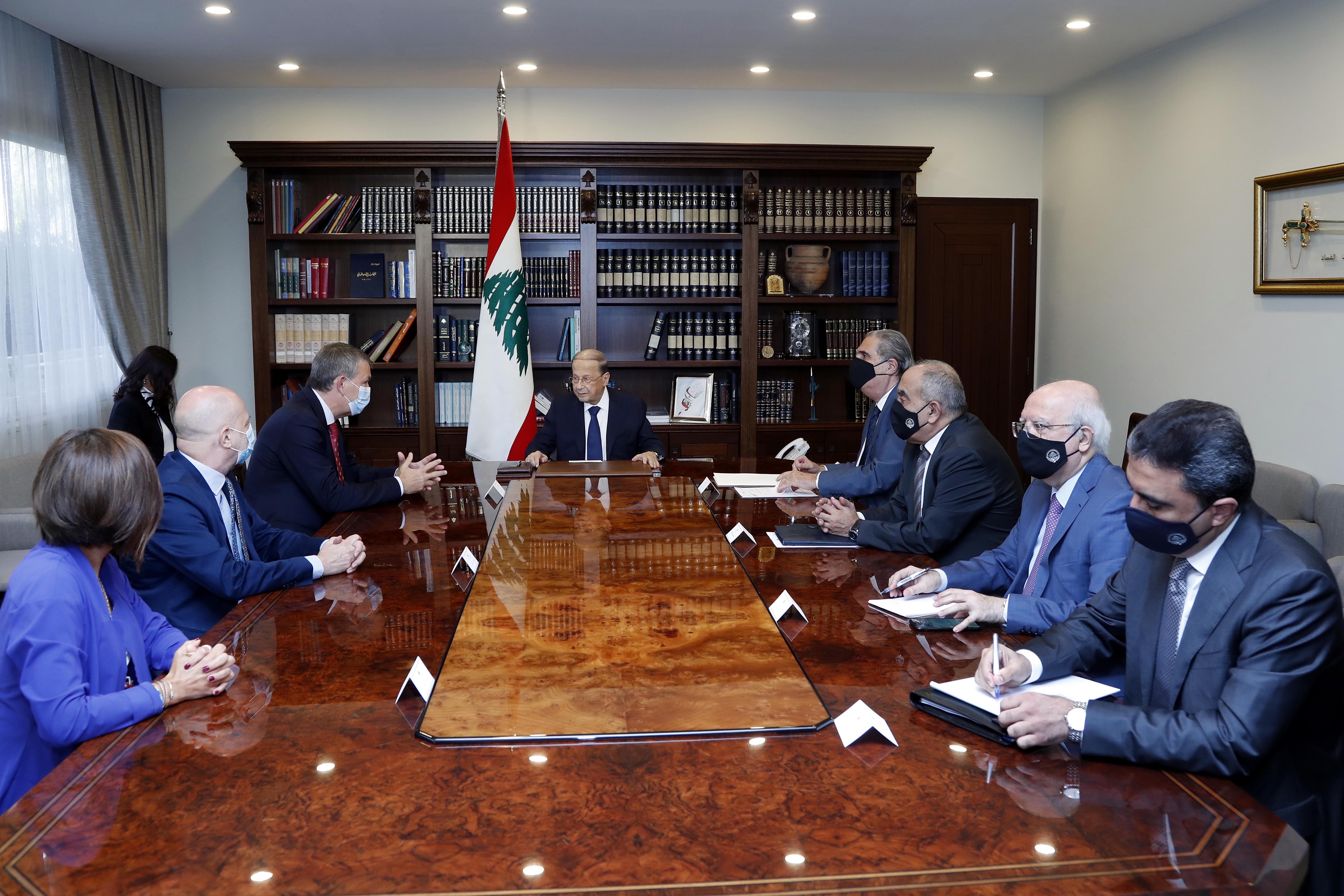 2 - UN Deputy Special Coordinator for Lebanon, Mr. Philippe Lazarini