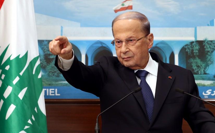 President Michel Aoun Address.
