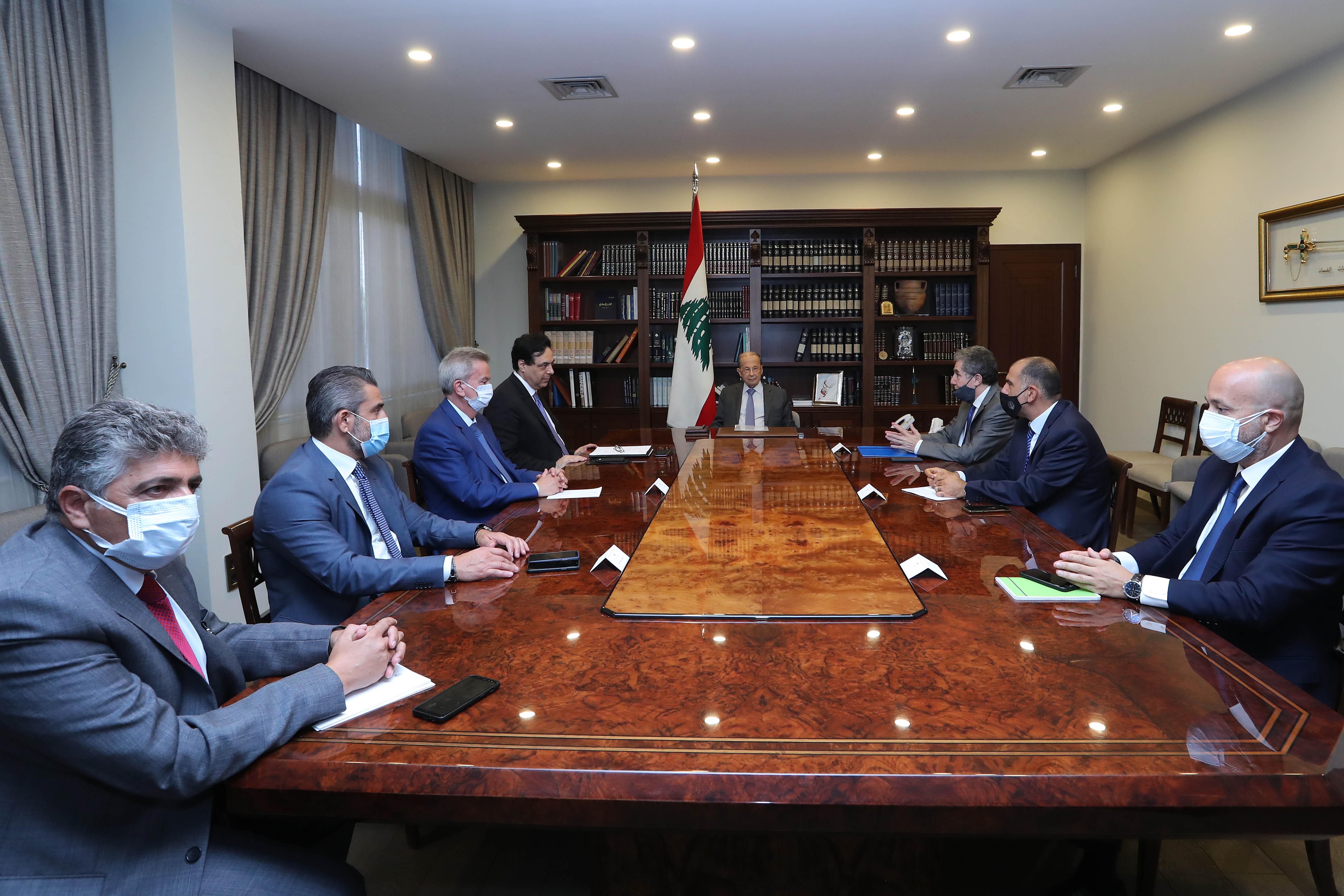 3 - Prime Minister Hassan Diab