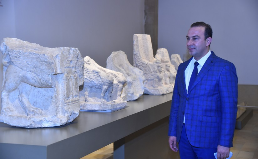 Minister Abass Mourtada Visits Museum of Lebanon