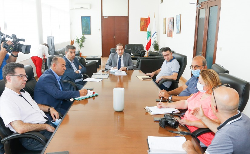Minister Abass Mourtada meets a Delegation from Cultural Associations