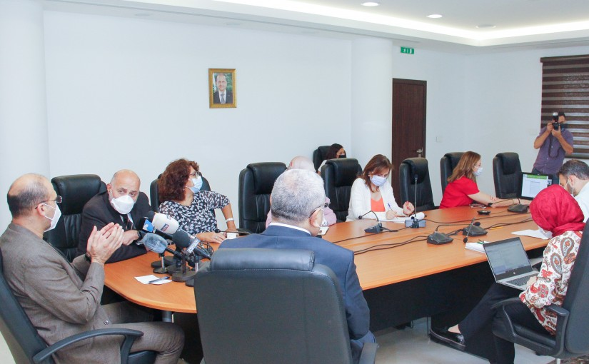 Minister Hassan Hamad Heading the Scientific Committee