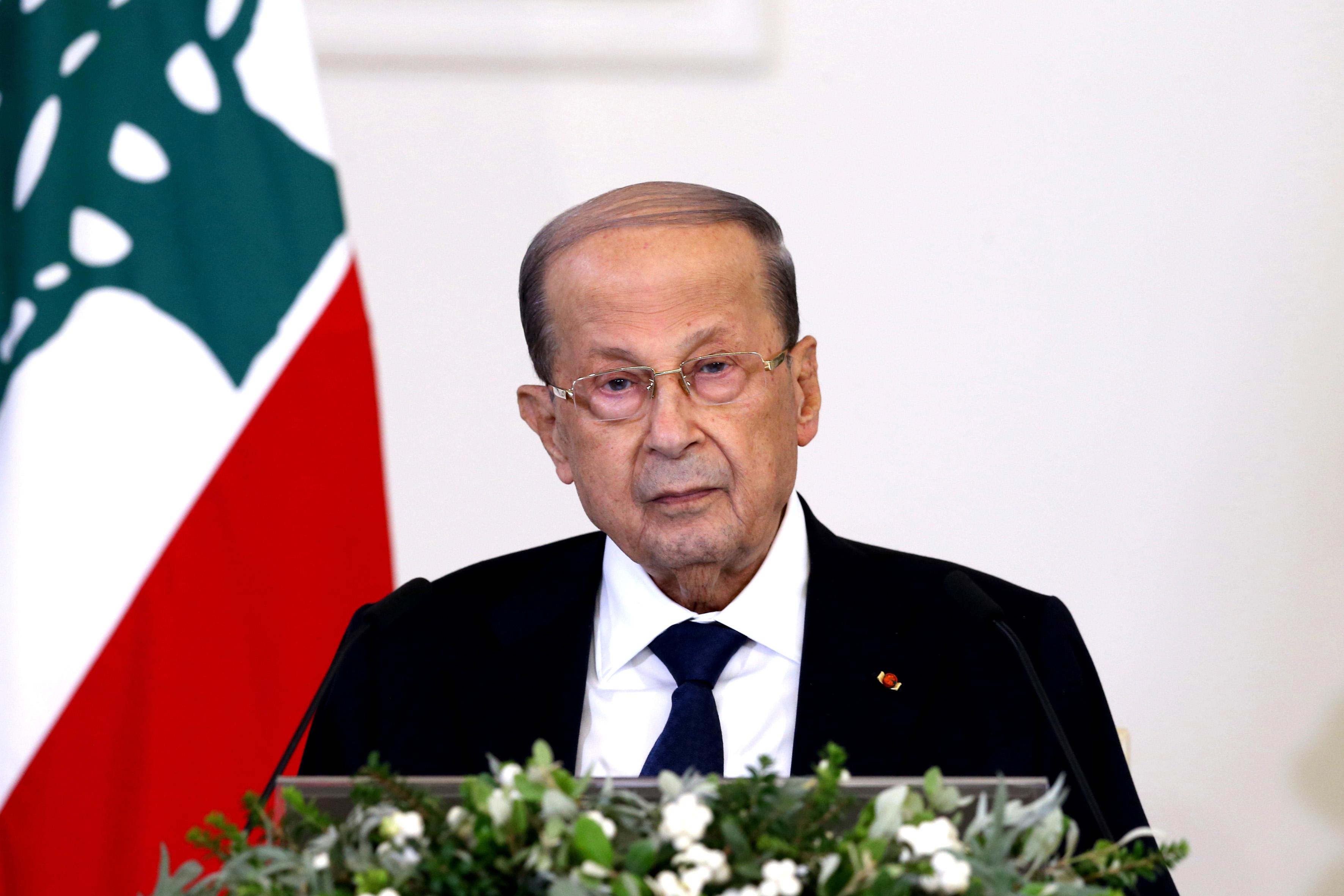 01 - President Michel Aoun press conference 20 oct 2020 (7)