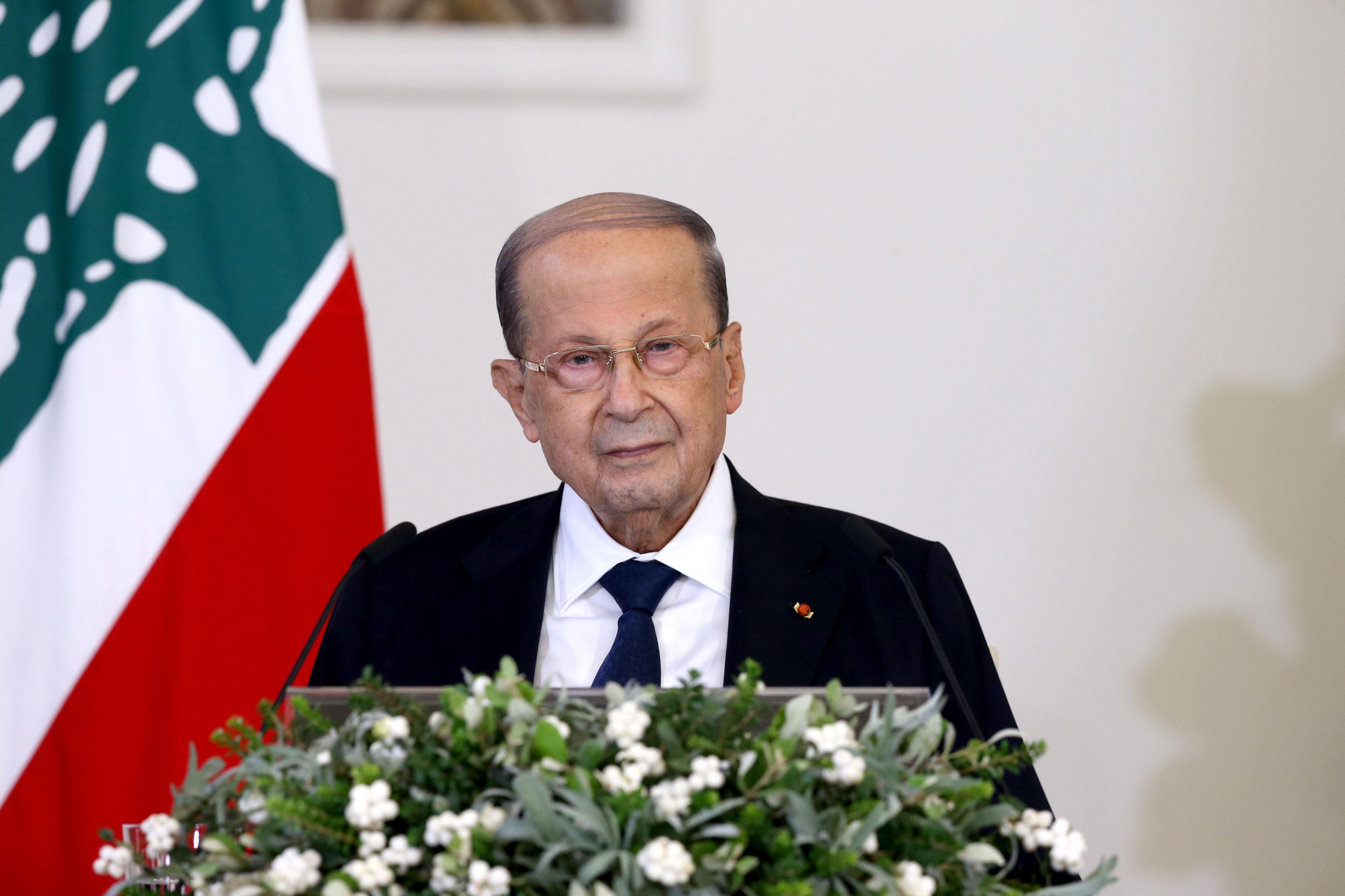 01 - President Michel Aoun press conference 20 oct 2020 (8)