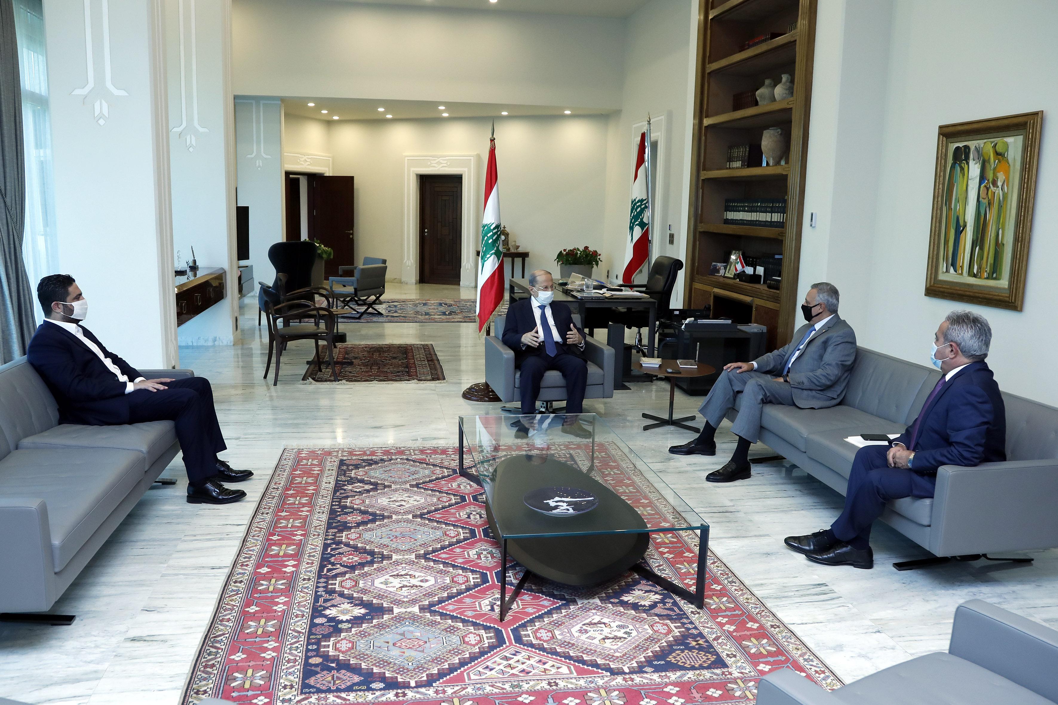 1 - MP  Emir Talal Arslan &  former Minister Saleh Al-Gharib
