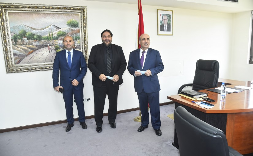Minister Charbel Wehbeh Inaugurate the new Office of Ministry of Foreign Affairs