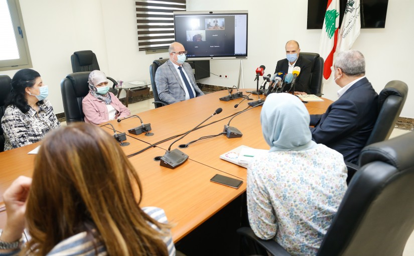Minister Hassan Hamad Heading the Information Committee