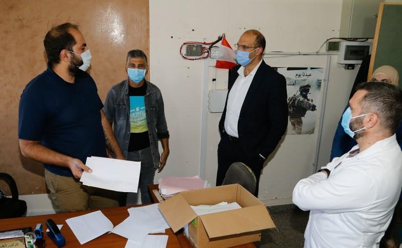 Tours for Minister Hassan Hamad at Quarantina
