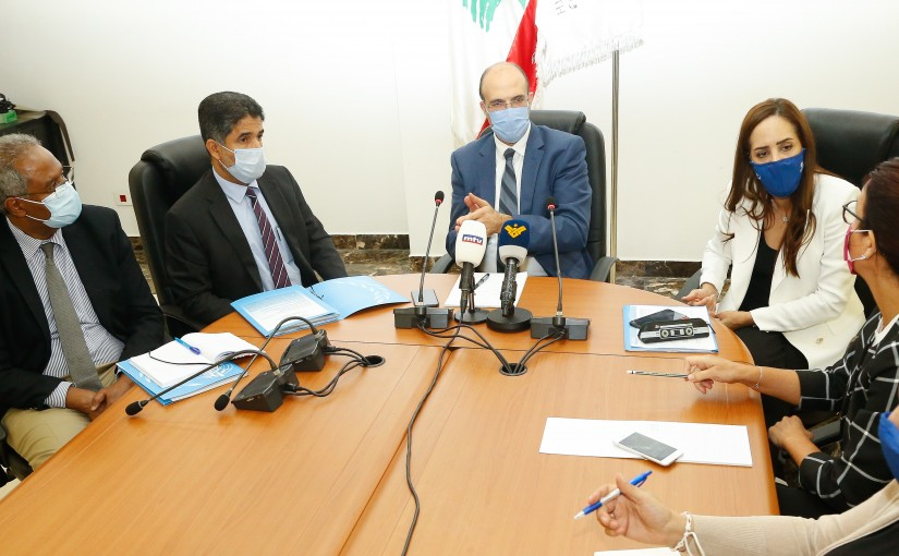 Minister Hassan Hamad meets a Delegation from World Health Organisation