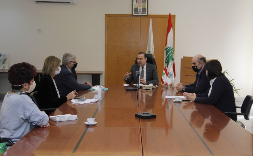 Minister Abass Mourtada meets a Delegation from Development Syndicate