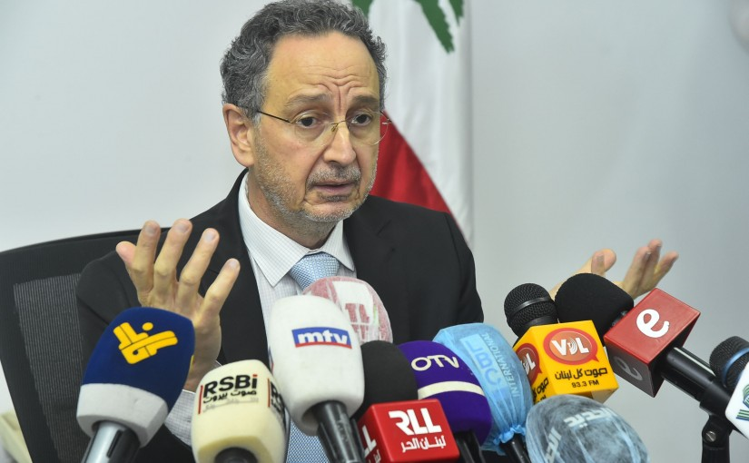 Press Conference for Minister Raoul Nehme
