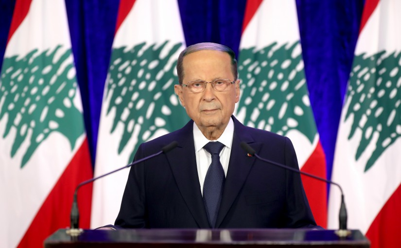 President Michel Aoun Addresses Nation on Independence Day