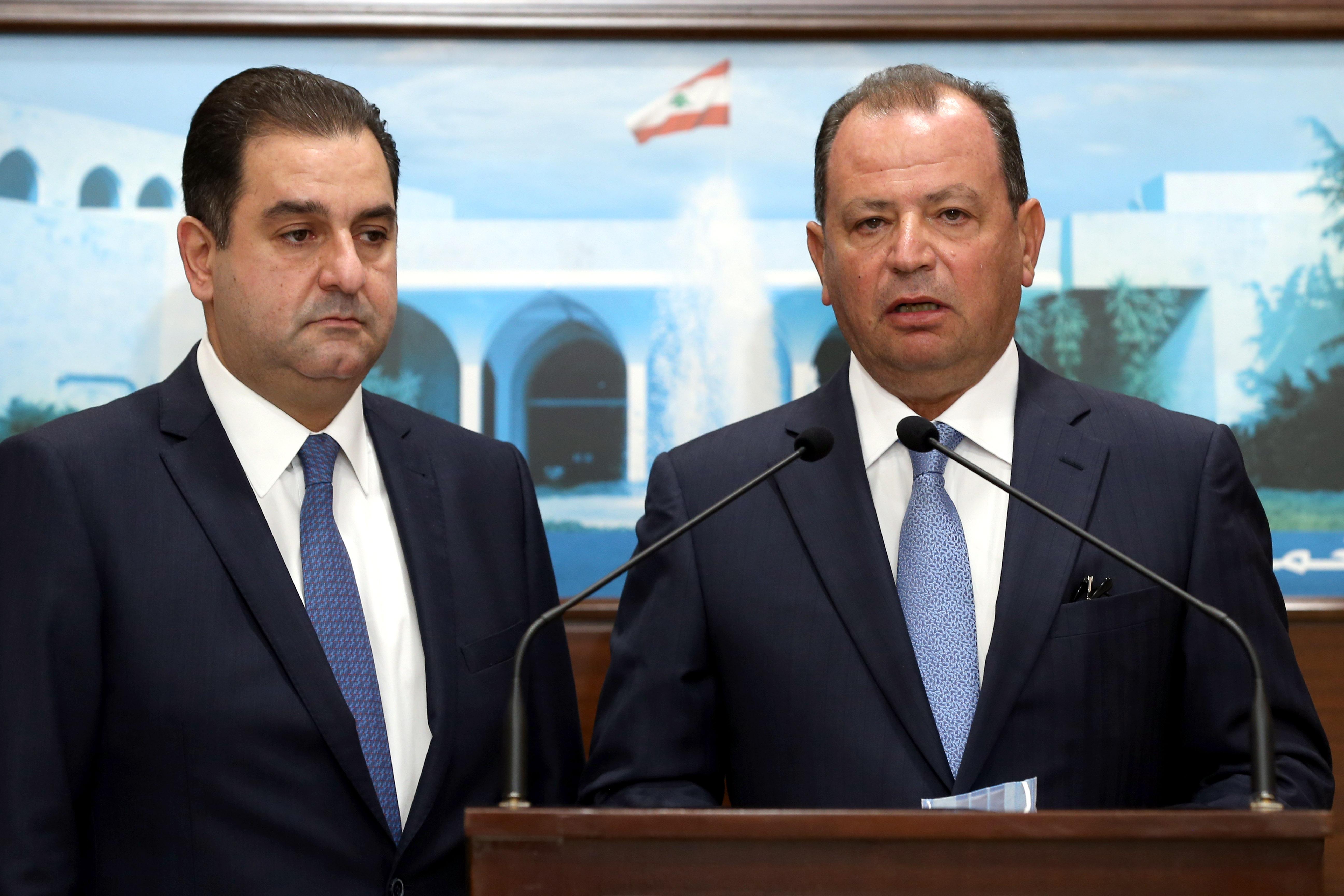 02 - MP Deputy Eddy Maalouf, and Mr. Jean Beyrouthy and Mr.Tony Al-Rami.