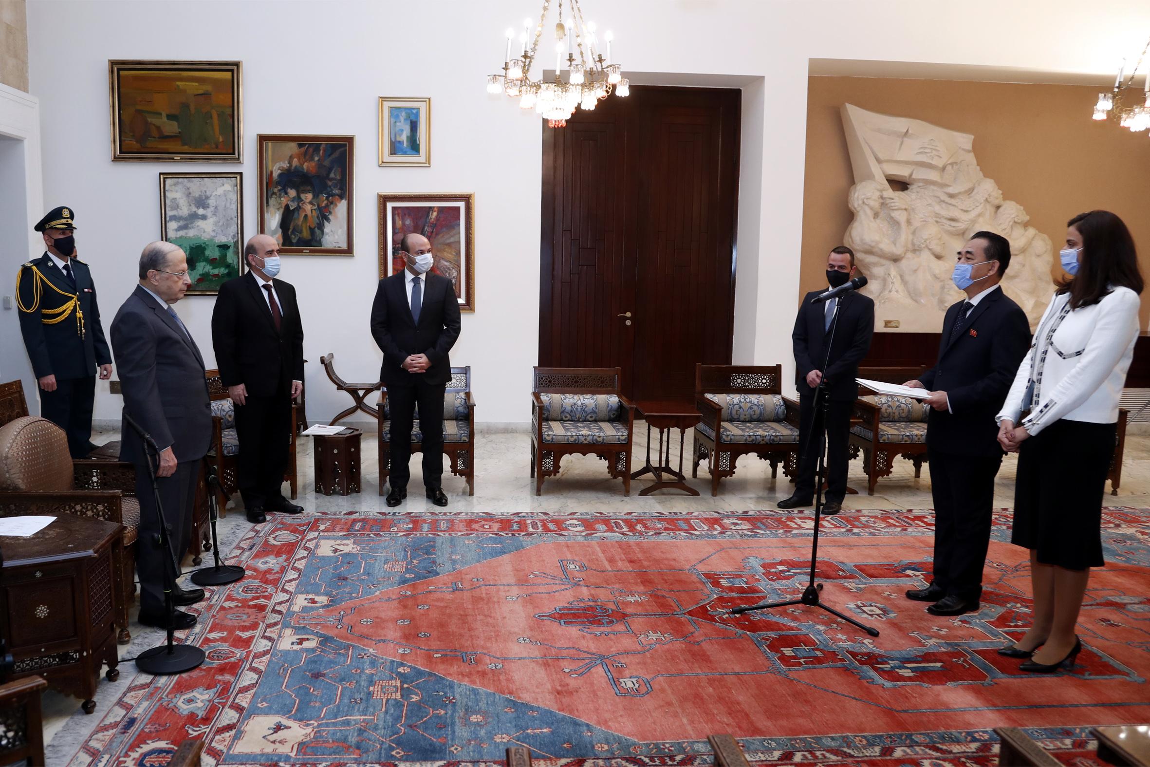 4 - Ambassador Mun Jong NAM (1)