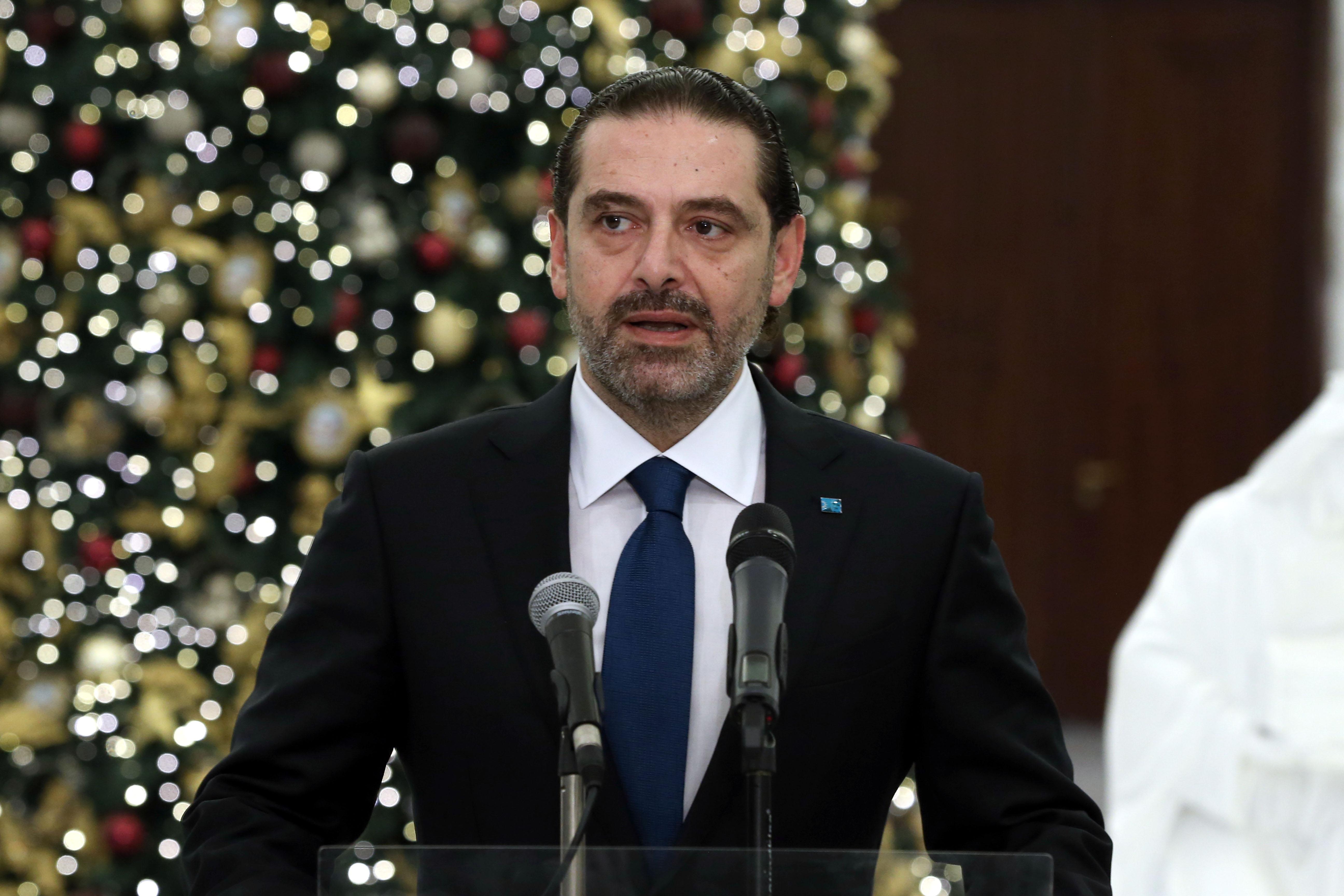 4 - Designated PM Saad Hariri (4)