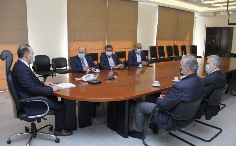 Minister Abass Mourtada meets a Delegation from Labour Sy3