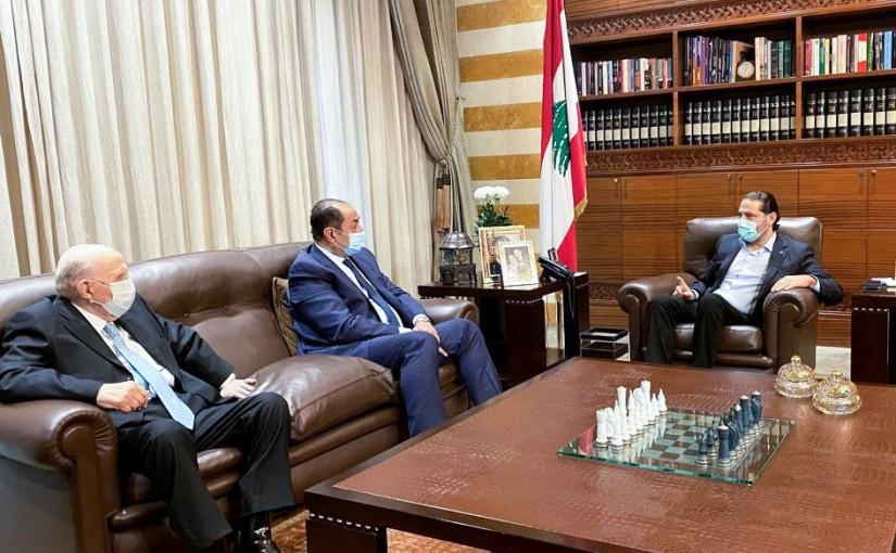 Pr Minister Saad Hariri meets Ambassador Houssam Zaki