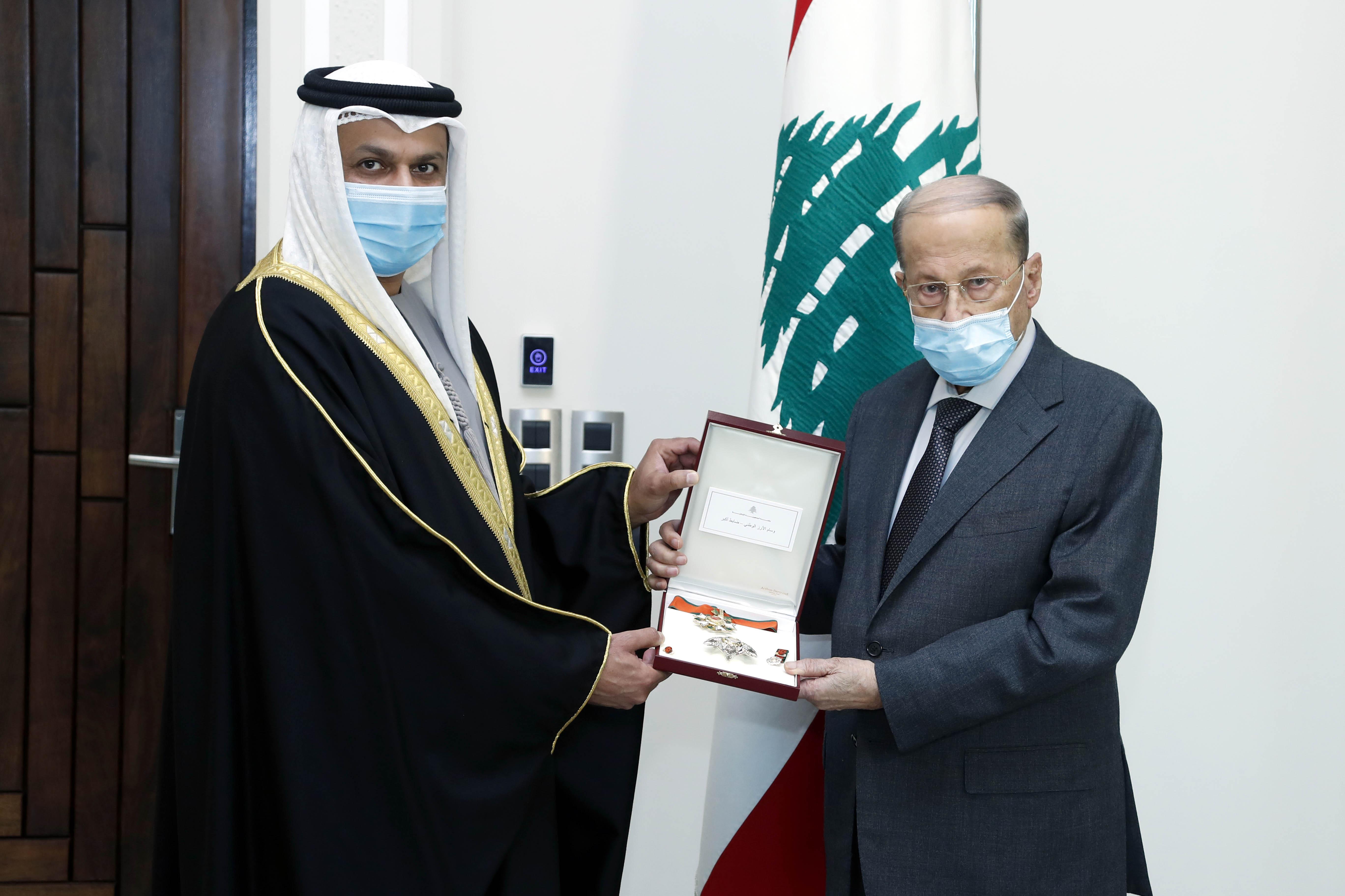 2 -United Arab Emirates Ambassador to Lebanon, Dr. Hamad Saeed Al-Shams (1)