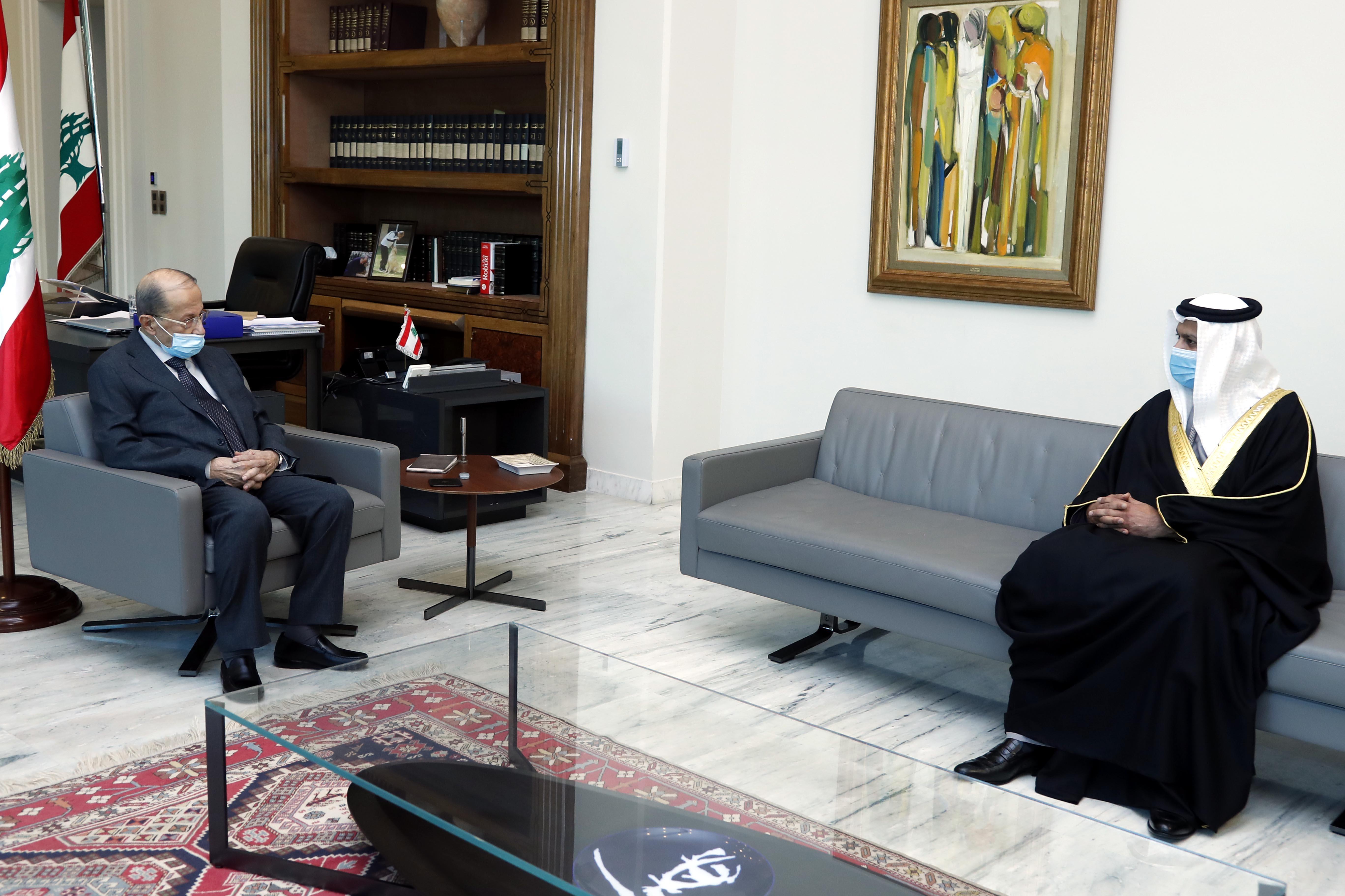 2 -United Arab Emirates Ambassador to Lebanon, Dr. Hamad Saeed Al-Shams (2)