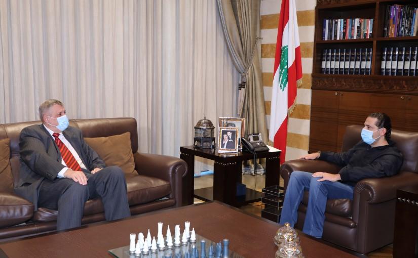 Pr Minister Saad Hariri meets Mr Yan Koubish