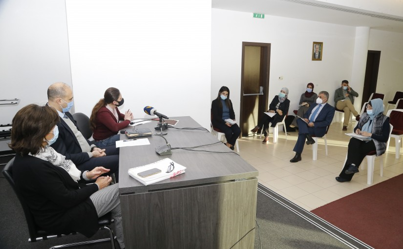 The national plan for vaccination at a preparatory meeting chaired by the Minister of Health